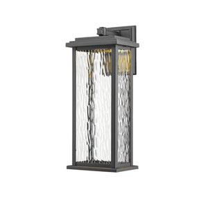 Sussex Black LED Seven-Inch One-Light Outdoor Wall Sconce