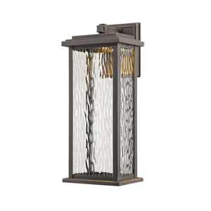 Sussex Oil Rubbed Bronze LED Seven-Inch One-Light Outdoor Wall Sconce