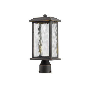 Sussex Oil Rubbed Bronze LED One-Light Outdoor Post Mount