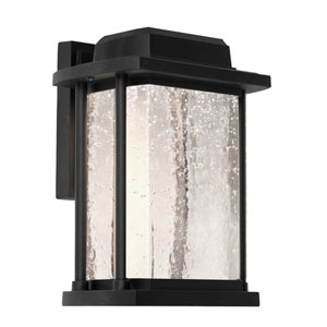 Addison Black One-Light Outdoor Wall Light