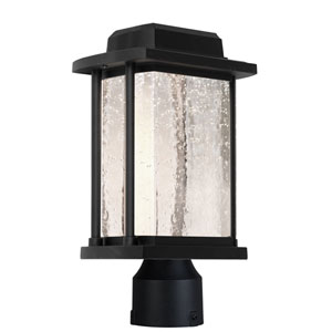 Addison Black One-Light Outdoor Post Light