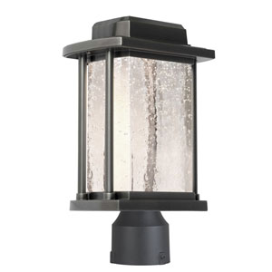 Addison Silver Leaf One-Light Outdoor Post Light