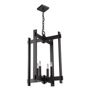 Cityscape Oil Rubbed Bronze Four-Light Pendant