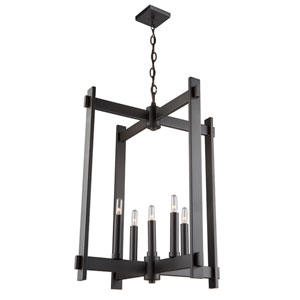 Cityscape Oil Rubbed Bronze Five-Light Pendant