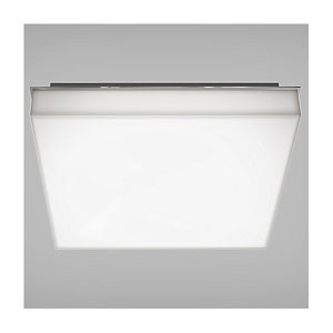 Cube Polished Chrome 15-Inch LED Bath Vanity