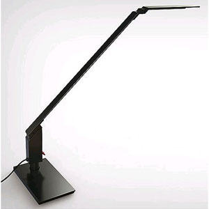Equis Polished Chrome LED Desk Lamp