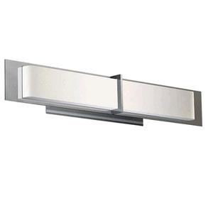 Equis Polished Chrome 39-Inch LED Bath Vanity