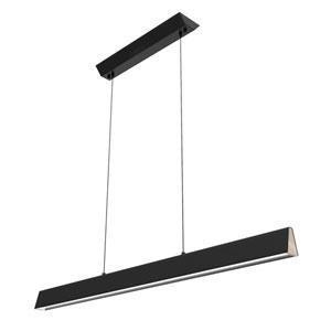 Flair Matte Black 48-Inch LED Linear Pendant