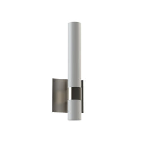Milo Satin Nickel Integrated LED Wall Sconce