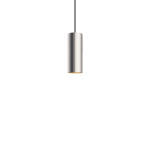 Novo Polished Chrome Integrated LED Mini Pendant with Reflector Ring