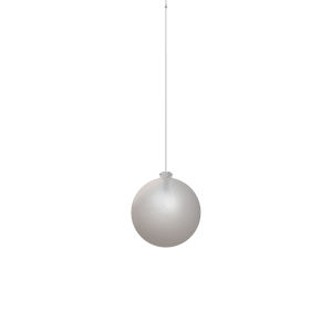 Polished Chrome Integrated LED Pendant with Frosted Glass