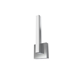 Nano Polished Chrome Integrated LED Wall Sconce
