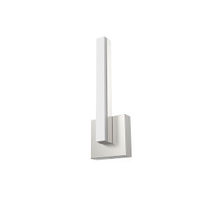 Nano Satin Nickel Integrated LED Wall Sconce