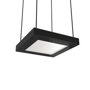 Quadra Gloss Black LED Mini Pendant