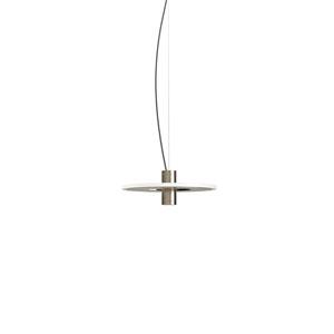 Staxx Satin Nickel 13-Inch LED Pendant