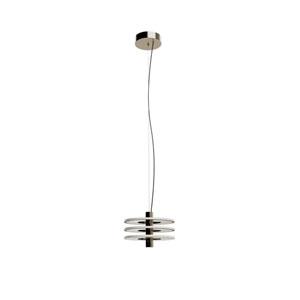 Staxx Satin Nickel 13-Inch LED Three-Light Pendant