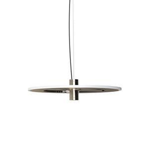 Staxx Satin Nickel 21-Inch LED Pendant
