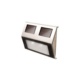 Stainless Steel Solar Deck Light- Four Pack