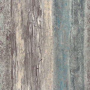 Teal, Beige and Grey Reclaimed Boards Wallpaper