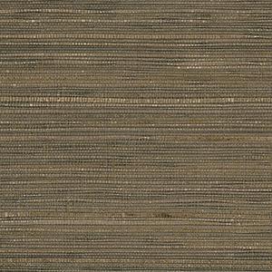 Fine Seagrass Cream, Black and Pearl Wallpaper