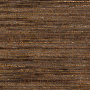 Fine Seagrass Brown Wallpaper