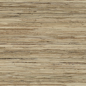 Fine Raw Jute Brown and Beige Wallpaper