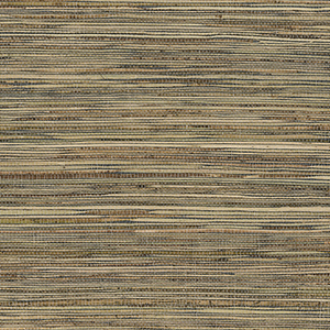 Fine Raw Jute Green, Brown and Beige Wallpaper