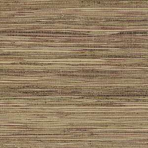 Fine Raw Jute Red, Brown and Beige Wallpaper