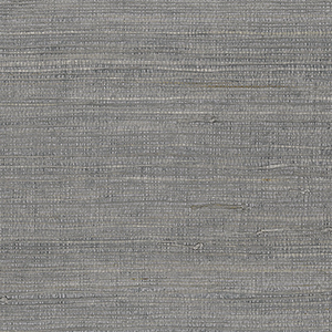 Extra Fine Raw Jute Grey Wallpaper