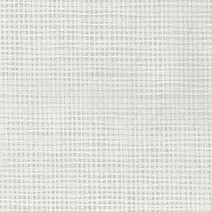 White and Silver Metallic Paper Weave Grasscloth Wallpaper
