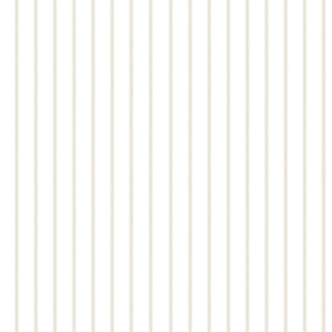 Ticking Stripe Beige Wallpaper
