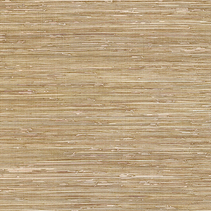 Grasscloth Brown Wallpaper