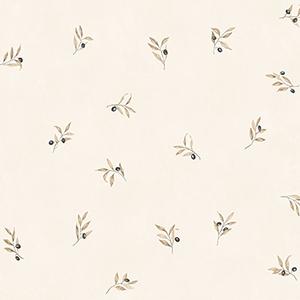 Olive Sidewall Beige Wallpaper