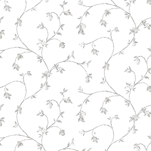 Fruit Trail Light Grey Wallpaper