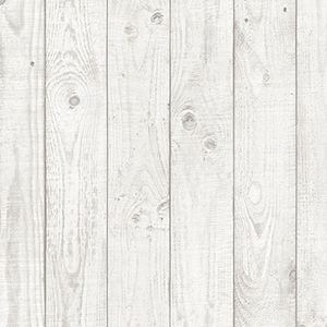 Light Grey Barn Board Wallpaper