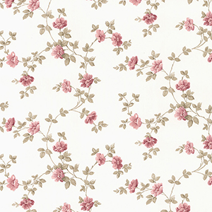 Historic Rose Trail Pink Wallpaper