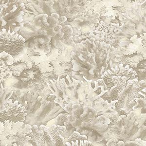 Beige Coral Wallpaper