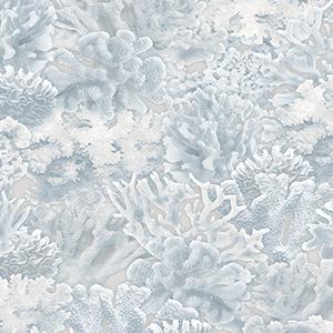 Light Blue Coral Wallpaper