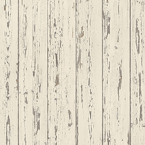Cream and French Vanilla Shiplap Wallpaper