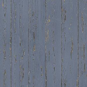 Dark Blue Shiplap Wallpaper