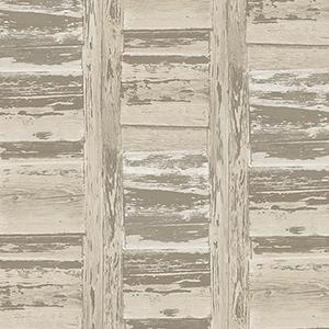 Brown and Beige Shutter Wallpaper