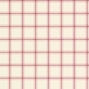 Red and Beige Plaid Wallpaper