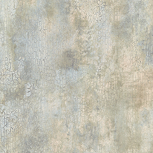 New Crackle Beige, Light Blue and Green Texture Wallpaper