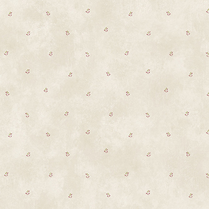 Splash Print Beige and Pink Floral Wallpaper