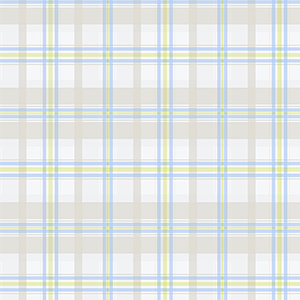 Blue, Green and Taupe Plaid Wallpaper