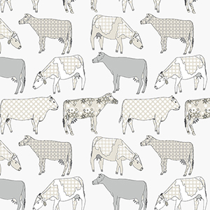 Cow Parade Green Wallpaper