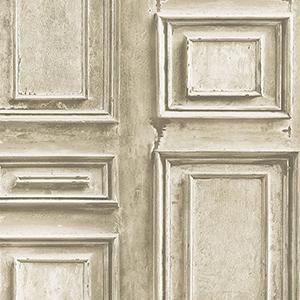 Light Brown Wood Panel Wallpaper