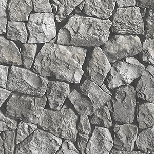 Grey and Black Spanish Stone Wallpaper