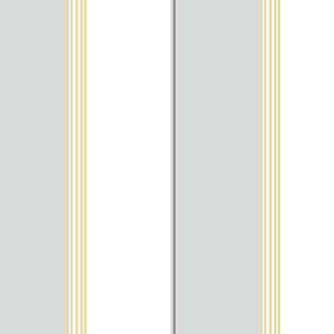 Pure Stripe Grey and Yellow Wallpaper