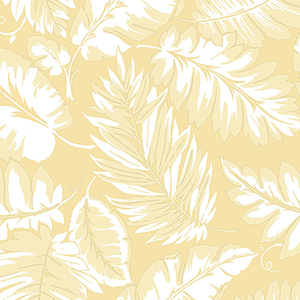 Yellow Palm Leaf Wallpaper